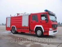 鸡球牌SZX5191GXFPM75型泡沫消防车