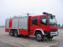 鸡球牌SZX5190TXFGL40型干粉水联用消防车