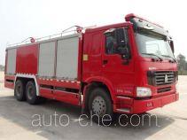 鸡球牌SZX5230TXFGF60/I型干粉消防车