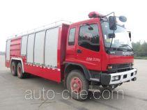 鸡球牌SZX5231GXFGY100/QL型供液消防车