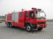 鸡球牌SZX5240TXFGL90型干粉水联用消防车