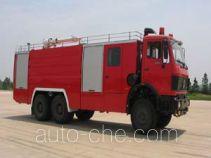 鸡球牌SZX5250GXFPM100型泡沫消防车