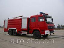 鸡球牌SZX5250GXFPM110型泡沫消防车
