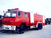 鸡球牌SZX5251GXFPM110型泡沫消防车