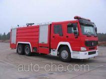 鸡球牌SZX5271GXFPM120型泡沫消防车