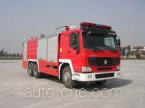鸡球牌SZX5270TXFGL100型干粉水联用消防车