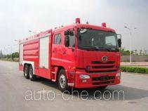 鸡球牌SZX5280GXFPM120SZ型泡沫消防车