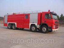 鸡球牌SZX5320GXFPM150型泡沫消防车