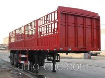 可利尔牌SZY9350XCY型仓栅式半挂车