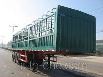 可利尔牌SZY9401XCY型仓栅式半挂车
