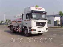 Dezun SZZ5165GHYNN461 chemical liquid tank truck