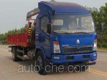 Wuyue TAZ5164JSQB truck mounted loader crane