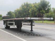 Wuyue TAZ9184TPBA flatbed trailer