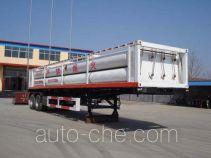 Wuyue TAZ9340GRQ flammable gas tank trailer