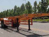 五岳牌TAZ9354TJZ型集装箱运输半挂车