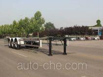 五岳牌TAZ9354TJZD型集装箱运输半挂车