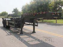 五岳牌TAZ9354TJZE型集装箱运输半挂车
