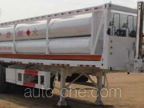 Wuyue TAZ9383GGY high pressure gas long cylinders transport trailer