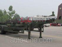 五岳牌TAZ9400TJZ型集装箱运输半挂车
