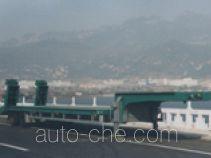五岳牌TAZ9341TDP型低平板半挂车