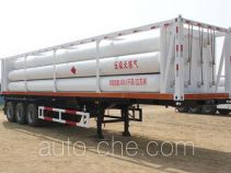 Wuyue TAZ9403GGY high pressure gas long cylinders transport trailer