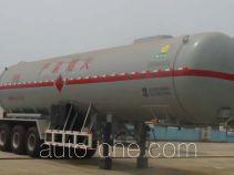 Wuyue TAZ9403GYQA liquefied gas tank trailer