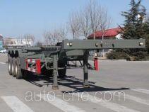 五岳牌TAZ9404TJZB型集装箱运输半挂车