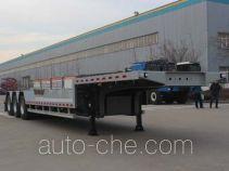 Wuyue TAZ9404TPBC flatbed trailer