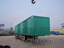 Xinyan TBY9270XXY box body van trailer