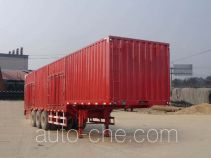 Xinyan TBY9380XXY box body van trailer