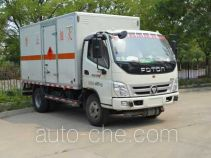 Zhongtian Zhixing TC5049XRQ flammable gas transport van truck