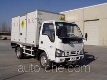 Zhongtian Zhixing TC5050XQY explosives transport truck