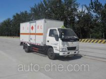 Zhongtian Zhixing TC5061XQY explosives transport truck