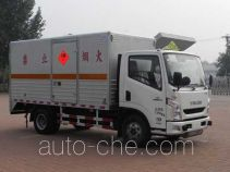 Zhongtian Zhixing TC5070XQY explosives transport truck