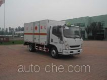 Zhongtian Zhixing TC5071XRQ flammable gas transport van truck