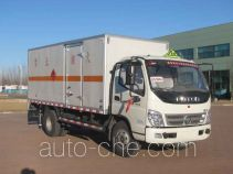 Zhongtian Zhixing TC5099XRQ flammable gas transport van truck