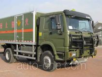 Zhongtian Zhixing TC5163XQY explosives transport truck