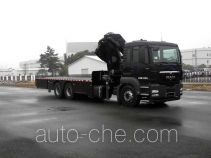 Zhongtian Zhixing TC5250JSQ truck mounted loader crane