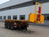 Tongqin TDG9400ZZXP flatbed dump trailer