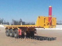 Tongqin TDG9401ZZXP flatbed dump trailer