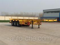 Jinlong Dongjie TDJ9370TJZ container transport trailer