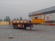 Jinlong Dongjie TDJ9370TPB flatbed trailer