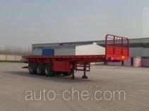 Jinlong Dongjie TDJ9370ZZXP flatbed dump trailer