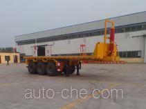 Jinlong Dongjie TDJ9371ZZXP flatbed dump trailer