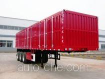 Jinlong Dongjie TDJ9372XXY box body van trailer