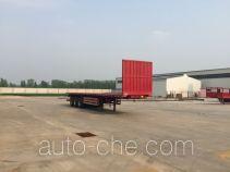 Jinlong Dongjie TDJ9372ZZXP flatbed dump trailer