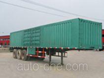 智慧树牌TDZ9380XXY型厢式运输半挂车
