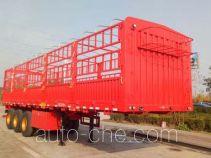 智慧树牌TDZ9402CCY型仓栅式运输半挂车