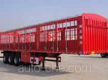智慧树牌TDZ9405CCY型仓栅式运输半挂车