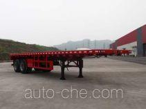 Tonggong TG9350TPB flatbed trailer